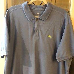 Sky Blue Tommy Bahama Polo shiry